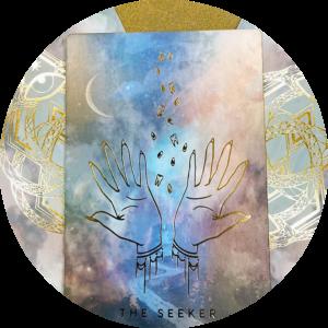 three oracle card layout