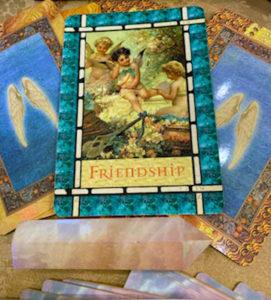 angel card decks with energy healing