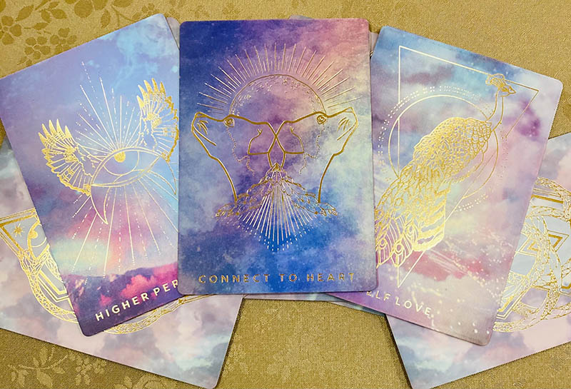oracle card spreads